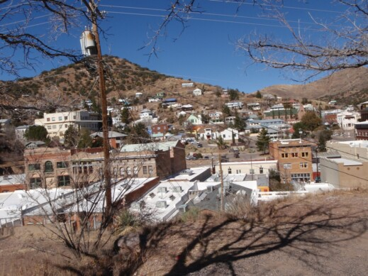 Bisbee, Arizona – Cute but COLD!