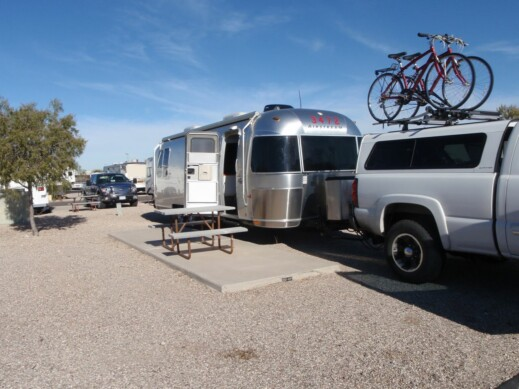 Voyager RV Park in Tucson, Arizona